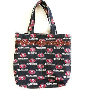 NFL San Francisco 49ers Tote Bag Shoulder Bag NEW